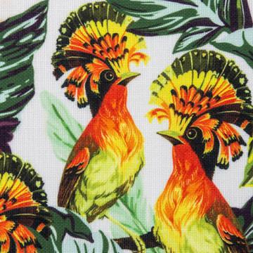 Printed Linen Look