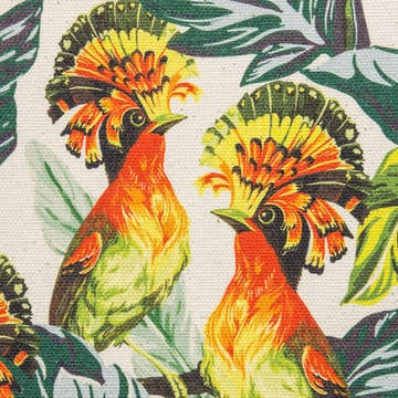 Printed Organic Half Panama