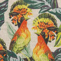 Printed British Natural Linen
