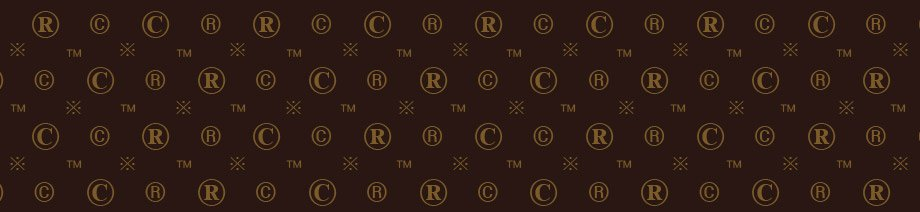 A pastiche copy of the Louis Vuitton monogram pattern