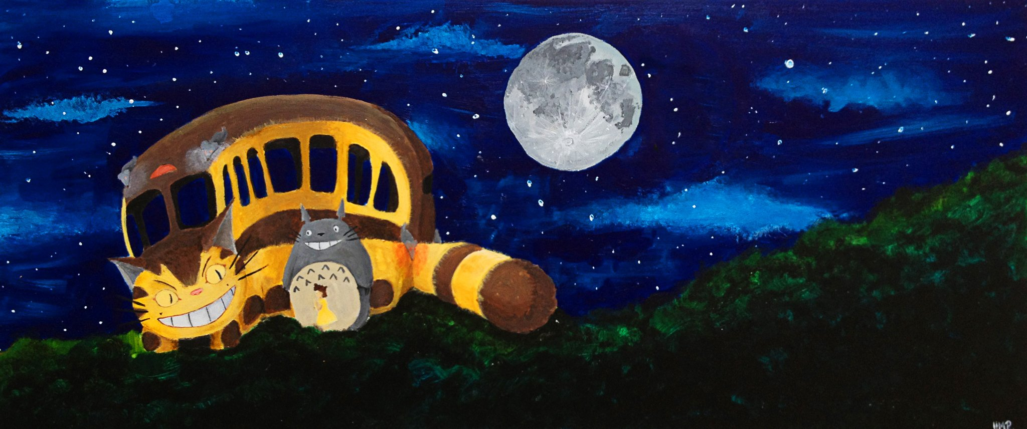 Catbus Painting