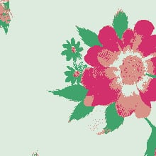 Floral GIF 4 Colours